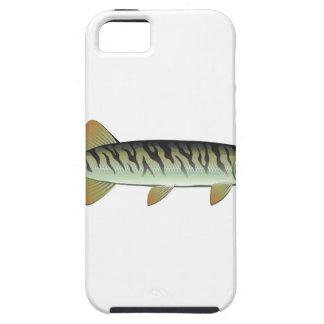 Tiny baby muskie Vector Art Fish Farm iPhone SE/5/5s Case