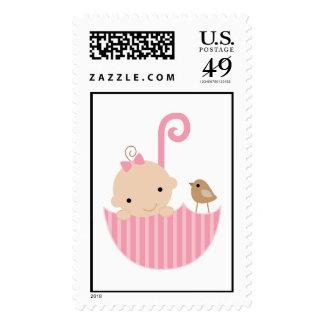 {tiny baby} postage stamp