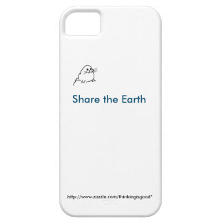 Tiny baby seal: Share the Earth iPhone SE/5/5s Case