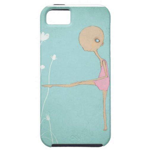 Tiny ballerina dancer iPhone 5 cover
