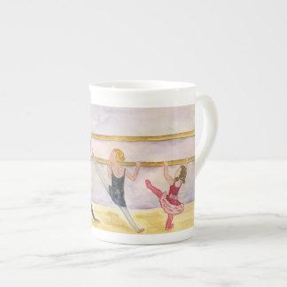 Tiny ballerinas, dance lover's mug