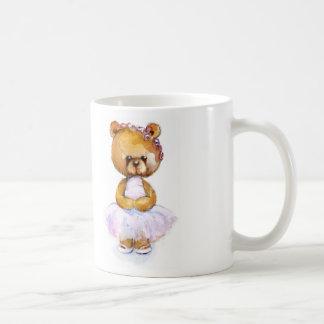 Tiny Ballet Bear Mug