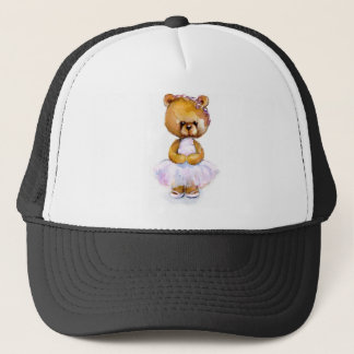 Tiny Ballet Bear T-shirts Trucker Hat