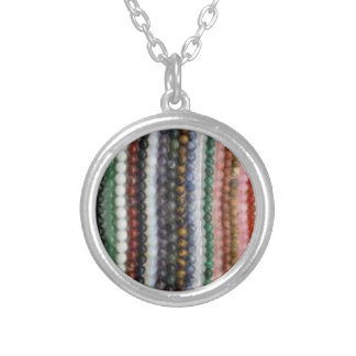 Tiny Bead image Small Silver Plated Round Necklace