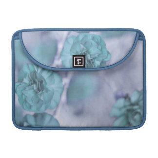 Tiny Blue Flowers MacBook Pro Sleeves For MacBooks