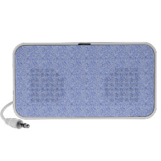 Tiny Blue Squares Pattern Mp3 Speakers