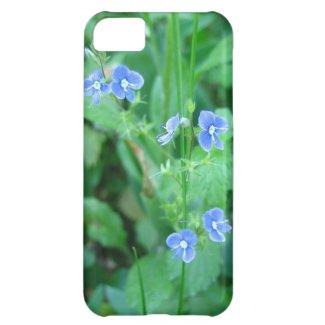 Tiny Blue Wildflowers iPhone 5C Case