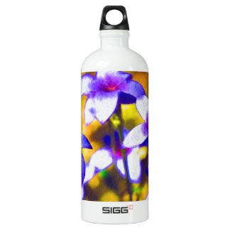 Tiny Bluet Wildflowers Digital Art SIGG Traveler 1.0L Water Bottle