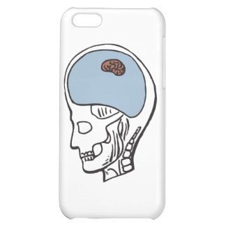 Tiny Brain Cover For iPhone 5C