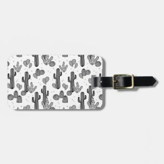 Tiny Cactus Cacti Exotic Tropical / Andrea Lauren Luggage Tag