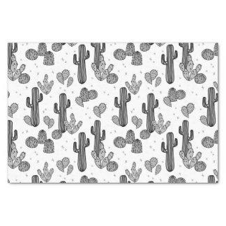 Tiny Cactus Cacti Exotic Tropical / Andrea Lauren Tissue Paper
