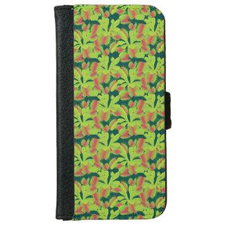 Tiny Carnivorous Venus Flytrap Floral iPhone 6 Wallet Case