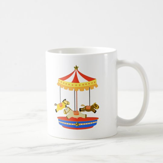 Tiny Carousel Coffee Mug