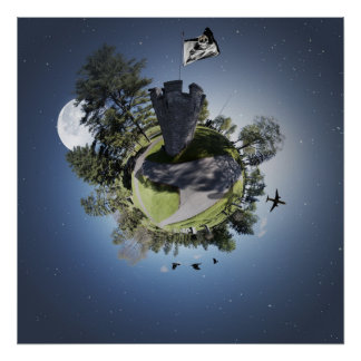 Tiny Cemetery Planet Posters