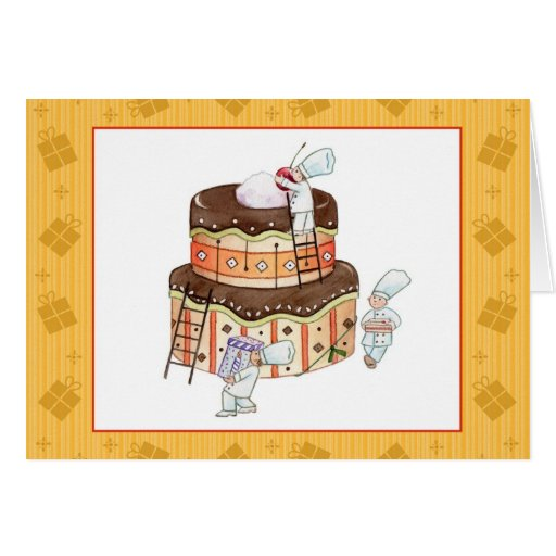 Tiny Chefs Birthday Card