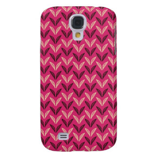 tiny chic doodle leaves design samsung galaxy s4 cover