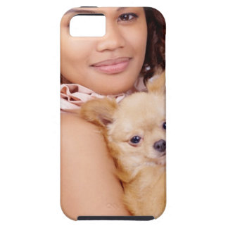 Tiny Chihuahua Shares Hair II iPhone SE/5/5s Case