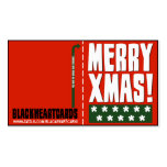 Tiny Christmas Cards Double-Sided Standard Business Cards (Pack Of 100)