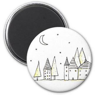 Tiny city magnets