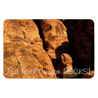 Tiny Climber; Nevada Souvenir Rectangular Photo Magnet