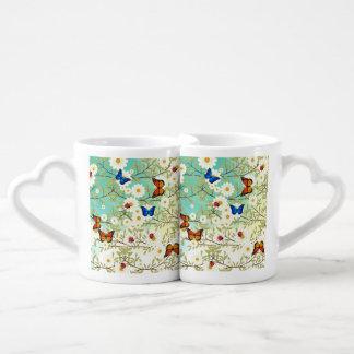 Tiny creatures coffee mug set