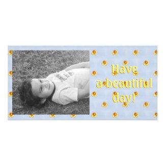 Tiny Daffodils Pixel Art Card