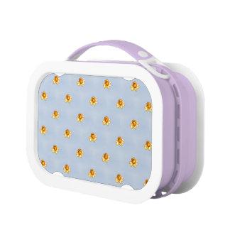 Tiny Daffodils Pixel Art Yubo Lunch Box