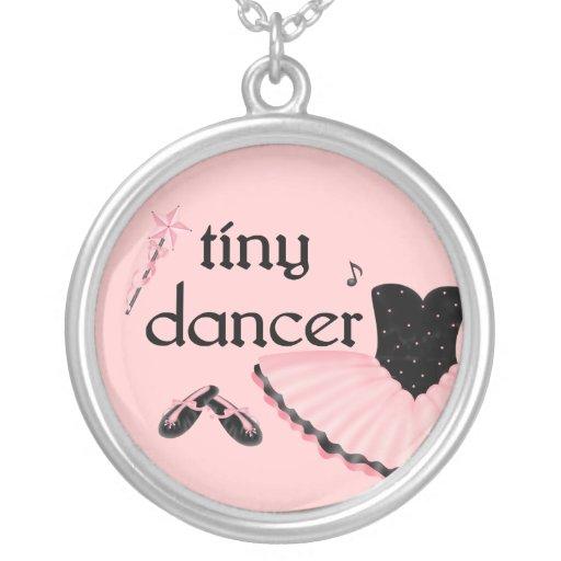 Tiny Dancer Ballet Necklace