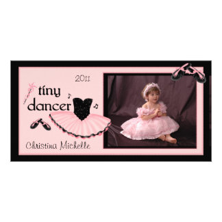 Tiny Dancer Ballet Photo Card
