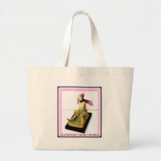 """Tiny Dancer: bronze sculpture Canvas Bag"