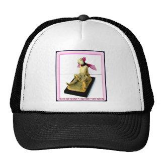 Tiny Dancer bronze sculpture Mesh Hat