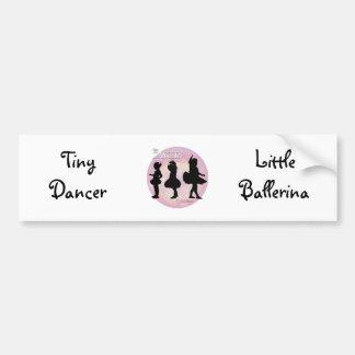 Tiny Dancer Car Bumper Sticker