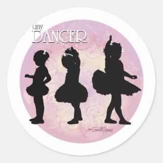 Tiny Dancer Classic Round Sticker