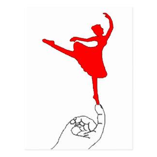 Tiny Dancer Postcard