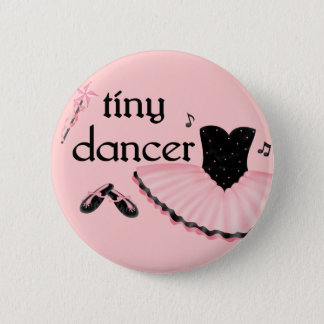 Tiny Dancer Round Ballet Button
