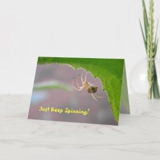Tiny Desert Spider - Greeting Card #2 card