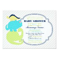 Tiny Dinos Dinosaur Baby Shower Invite