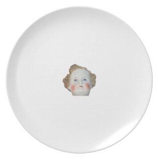 Tiny Doll Head Plate