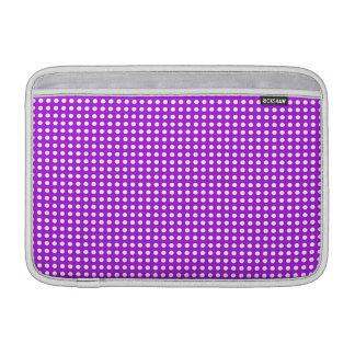 Tiny Dots on Purple MacBook Air Sleeves