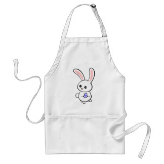 Tiny Easter Bunny Adult Apron