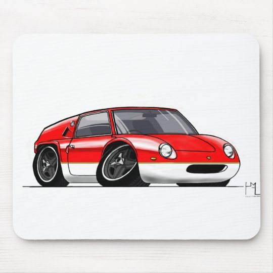Tiny Europa 47GT (red) Mouse Pad
