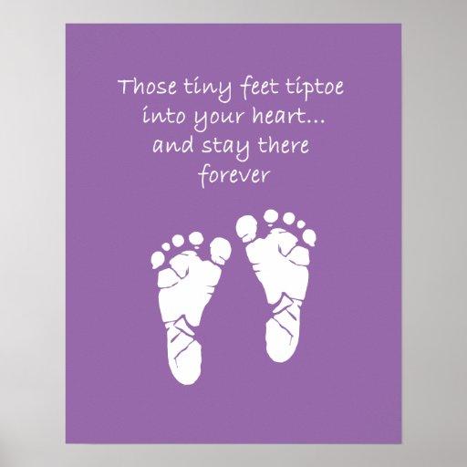 Tiny Feet Poster