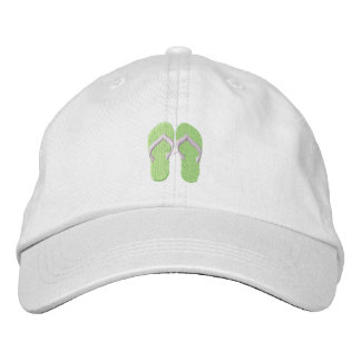 Tiny Flip Flops Embroidered Baseball Hat