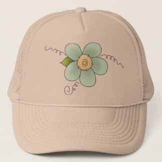 Tiny Flower Trucker Hat