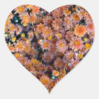 Tiny Flowers (Gift) Heart Sticker