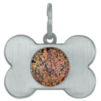 Tiny Flowers (Gift) Pet Name Tags