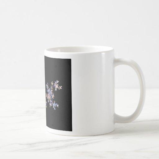 Tiny Fractal Art Flowers Coffee Mug