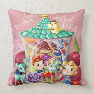 Tiny Garden of Biggest Love Pillow