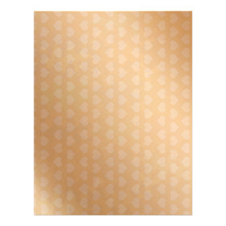 Tiny Golden Hearts Personalized Letterhead