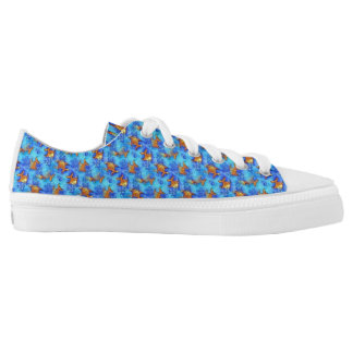 Tiny Goldfish Fun Print for Girls Low-Top Sneakers